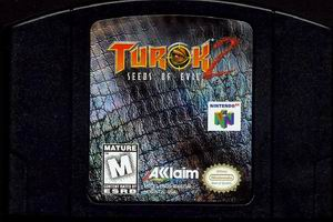 Turok 2 - Seeds of Evil (USA) Cart Scan